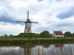 Damme windmill (wellingtonandsqueak) Tags: windmill belgium c1 damme