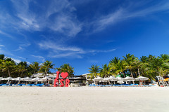 Boracay in station 1 (Andy-Hsieh) Tags: travel sea orange green yellow zeiss landscape island 50mm sony philippines carl  f2 24mm boracay za   a7 ssm  planar distagon oceam 14mm a7ii samyang    a72 a7m2 ilce7m2