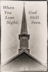 Losing Sight (Back Road Photography (Kevin W. Jerrell)) Tags: virginia faith churches inspirational presbyterian beliefs princewilliamcounty churchsteeples adobelightroom nikond60 nokesville countrychurches backroadphotography