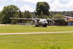 Bundeswehrtransall C 160 auf Verkehrslandeplatz Ballenstedt (Corno3) Tags: harzvorland ballenstedt flugzeug verkehrslandeplatz sachsenanhalt deutschland de