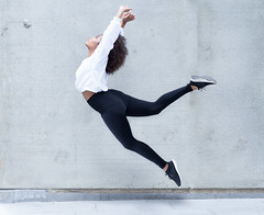 The Dancer (elliftheartist) Tags: selfportrait outdoors fly dance fineart surreal levitation multiplicity conceptual whimsical streetstyle surrealphotography