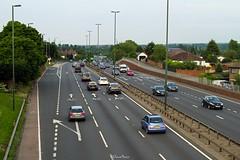 A2 Bexleyheath (LFaurePhotos) Tags: life road london cars highway suburban vehicles lamppost bexley a2 southeastlondon dualcarriageway londonboroughofbexley