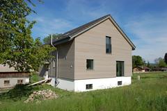 Fassadensanierung und Dachaufbau Fischbach-Göslikon