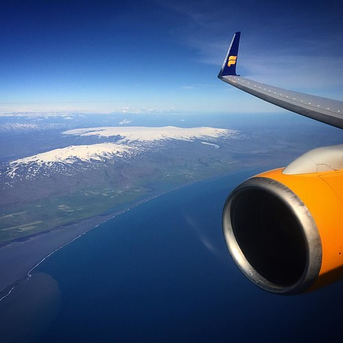 Eyjafjallajökull- last erupted in 2010. Icelandic pronunciation [ˈeɪjaˌfjatlaˌjœːkʏtl̥]: view courtesy of @icelandair #mystopover