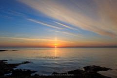 Sunrise. (Kjartan Gumundur) Tags: ocean sky seascape clouds sunrise canon iceland arctic canonef1635mmf28liiusm photoguide canoneos5dmarkiii kjartangumundur