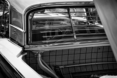 Skyliner (christian.grelard) Tags: blackandwhite bw ford car canon vintage eos automobile fifties noiretblanc nb collection american galaxie fairlane 1959 skyliner 700d canonfrance
