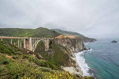 Big Sur (Maciek Lulko) Tags: ocean california bridge usa seascape nature clouds landscape coast seaside nikon pacific cloudy bridges bigsur tamron kalifornia californiacoast bixbybridge 2016 historicbridge historicarchitecture nationallandmark nikond800 tamron1530 usa2016 californiastate1route