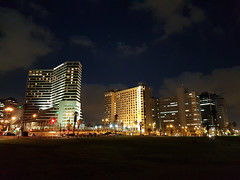An evening in Tel Aviv (Rahul Gaywala) Tags: tel aviv israel evening nightshot mobile click