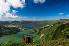 Sete Cidades, Azores. (blobs89) Tags: circularpolariser nikon d7200 landscape treestump lakes caldera setecidades pontadelgada