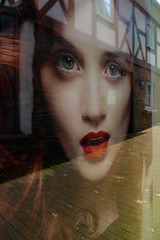 window-shopping (Werner Schnell Images (2.stream)) Tags: reflection window shop advertising poster fenster schaufenster werbung windowshopping ws attendorn