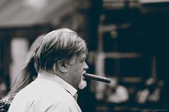 Portrait (Natali Antonovich) Tags: brussels portrait monochrome belgium belgique belgie profile lifestyle cigar stare tradition sweetbrussels