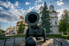 Kremlin Tsar Cannon (Quentin K) Tags: travel church buildings landscape colorful russia moscow cannon redsquare kremlin tsar