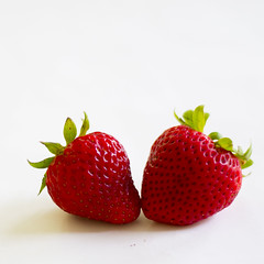 2016-05-31 Fruit Revisited 006 (consolecadet) Tags: stilllife food fruit strawberries whitebackground edible