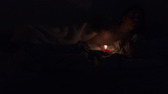Marine_Bougie_Allonge (mathieuribeiro) Tags: light shadow woman silhouette candle body gorgeous