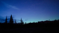 Banff Surprise Star Party Timelapse (rellet17) Tags: aurora northernlights stars clouds timelapse party banffnationalpark canada
