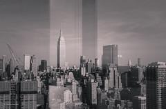 Window to the city (claugrodriguez) Tags: newyorkcity newyork skyline skyscraper buildings unitedstates cities empirestate urbanphotography landscapeorientation