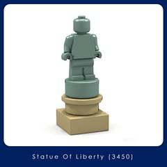 LEGO Brand Store - Statue of Liberty (3450) (Adeel Zubair) Tags: lego legostore legobrandstore store modular building moc mini micro microscale set america statue liberty 3450 statueofliberty