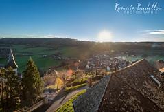 Rayon du soleil sur Turenne (Romain Pradellou) Tags: sunlight soleil paysage turenne correze limousin rayondusoleil