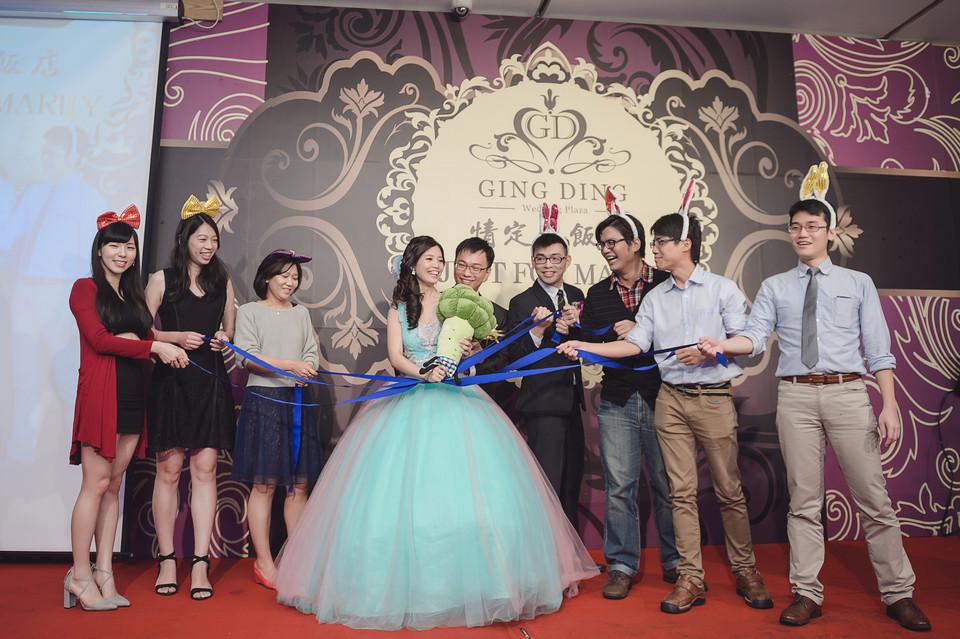 婚禮攝影-台南情定婚宴城堡永康館-64