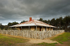 Homestead (Macr1) Tags: 61403327236 abandoned architecture australia building builtenvironment cameras cloudy conditions d700 day default disused dwelling exteriors facade faade homestead house itemcondition lenses location markmcintosh nikkor nikon nikond700 old outdoor overcast pcenikkor24mmf35ded ruraldecay structure wa westernaustralia williams macr237gmailcom markmcintosh