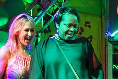 Karaoke at Cat's Meow. (Flagman00) Tags: karaoke catsmeow neworleans frenchquarter  milf gilf hotchicks hot pretty sexy women grandma mom singing stage nightlife group duet drunk horny