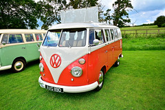Lavenham, VW Cars And Camper Vans (Martin Pettitt) Tags: uk summer cars june vw volkswagen suffolk vehicles dslr classiccars lavenham dayout vwcampervan sigma1020mmf456exdchsm nikond7100