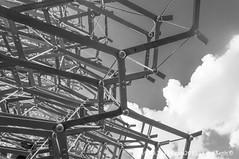 Expo 2015 @Milano (Lord Seth) Tags: 2015 d5000 lordseth alveare bw biancoenero espozioneuniversale expo italy milan milano nikon padiglioni uk