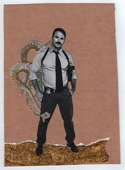 (Philip Keys) Tags: bear gay art collage queer queerart handmadecollage collageonpaper bearart beargay philipkeys