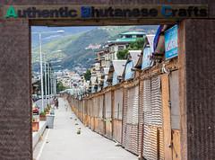 Bhutan Handicraft Market (sushilpatro) Tags: red wheel fog handicraft airport peace technology child bhutan wine market tea buddha label prayer monk buddhism flags funeral monastery walker valley plantation gateway taktsang 108 stupas johnie tzatzas