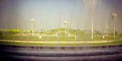 Lomography Oxygen Park Through Waterfall (Doha Sam) Tags: panorama belair film mediumformat iso100 lomography nikon fuji scan negative mf 100 analogue selfprocessed manualfocus reala doha qatar hugin c41 nikonscan 6x12 colorneg educationcity wcmcq coolscan9000ed qatarfoundation colorperfect samagnew smashandgrabphotocom linearscan hamadbinkhalifauniversity wwwsamagnewcom hbku belairx612 oxygenpark