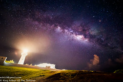 Galaxy (ech119) Tags: summer lighthouse night zeiss canon stars seaside south taiwan galaxy    kenting     pingtung       eluanbilighthouse zeiss15mm