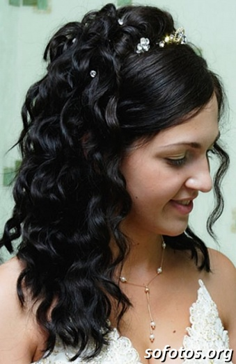 Penteados para noiva morena