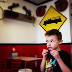 Eating dinner at #FirehouseSubs with #Malikai. / on Instagram http://instagram.com/p/ZJjOnxMmsR/ (JonZenor) Tags: photos tumblr instagram