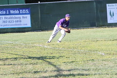 Petaluma High Trojans Varsity Baseball vs. Analy High School Tigers (wdunby) Tags: school tree high baseball brandon management varsity tigers vegetation service petaluma vs patricia burke webb trojans dds analy marweg