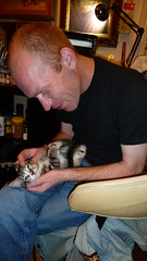 Kitty's First Night (A.Currell) Tags: new night cat kitten kitty first adopted adopt kittys number3 may202013