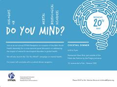 IFPMA Reception: Dialogues on Mental Neurological Disorders