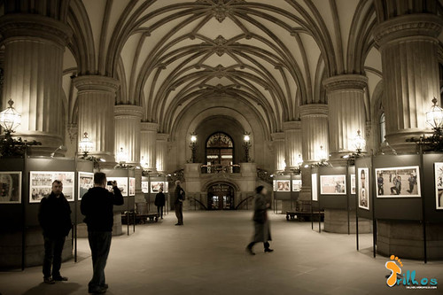 interior do Rathaus, Hamburgo