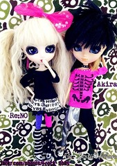 Re:NO & Akira (J-Rock dolls) Tags: music fashion japan japanese doll dolls ooak models customized akira pullip reno custom jrock kera pullips jpop  aldious disacode