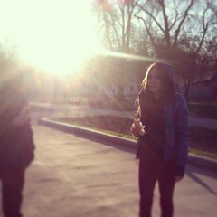(Taya Kasimova) Tags: birthday park morning light food sun blur sunrise early spring alley ray natural smooth meal ethereal beams walabout instagram