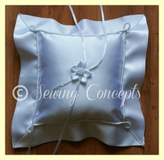 Wedding Ring Cushion (Sewing Concepts) Tags: wedding ring cushion
