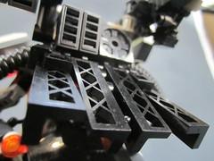 Backpack detail (Messymaru) Tags: original robot lego gunner mecha mech moc