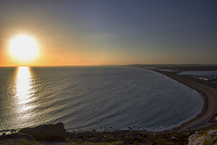Chesil View Sunset (Darren Chadwick) Tags: sunset beach portland coast dorset chesil jurasic