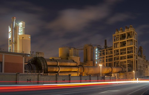 Cement Works Night