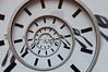 Endless time (Leif79) Tags: clock nikon infinite endless uhr drosteeffect droste unendlich d90 mathmap