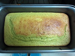 Green tea sponge-cake (Julio Martinez) Tags: food green cake tea sponge