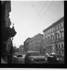 re~hash (nerd_up) Tags: street urban blackandwhite 120 film stpetersburg lomo lomography russia peter diana