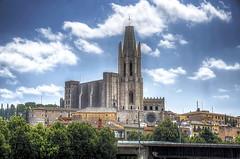 Girona Plaa de la Catedral HDR (Sir. Jensen) Tags: spain girona hdr traveltospain gironacatedral nikond7000hdr placadelacatedral gironaplaadelacatedral
