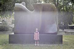 (Crausby) Tags: morning summer portrait london art westminster childhood modern bronze early kid nikon artist child moore scultpture dslr sculptor d3 henrymoore malfunction cameraerror ldn purplecast semiabstractmonumentalbronze