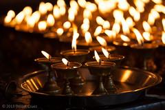 Oil lamps (Dexter Cruez) Tags: nepal temple oil kathmandu lamps oillamps
