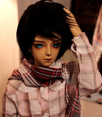 Clyde:) (leishaj777) Tags: brown senior ball real clyde doll skin body noel size sd bjd luts hybrid delf jointed